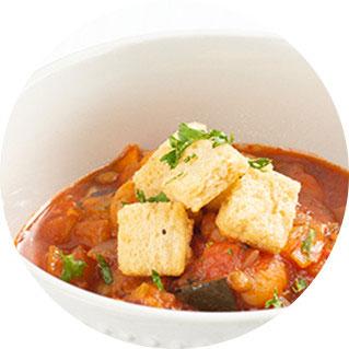 スープに入れて